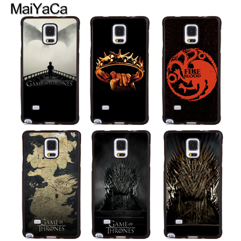 MaiYaCa Game of Throne Style Soft Rubber Phone Cases For Samsung Galaxy S5 S6 S7 edge plus S8 S9 plus Note 5 8 Back Coque Cover