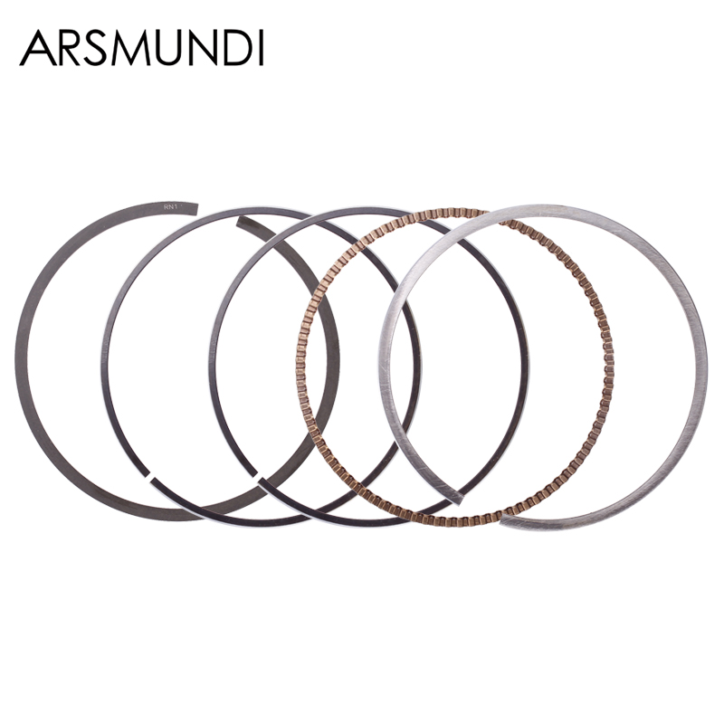 Motorcycle Engine Cylinder Part Piston Rings For <font><b>Honda</b></font> AX-1 AX 1 250 NX250 <font><b>NX</b></font> 250 XL250 XL 250 Accessories image