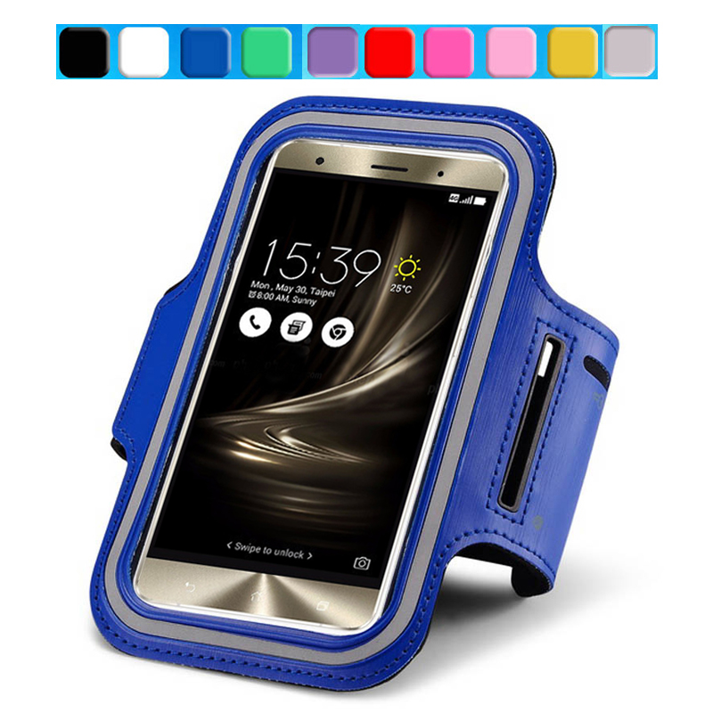 buy online 51bf6 97872 For ASUS Zenfone 3 Arm Band Jogging Case For ASUS Zenfone 3 Deluxe ...