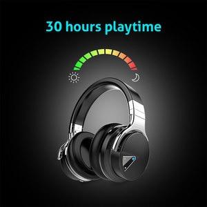 Image 4 - Originele Cowin E7 Anc Bluetooth Hoofdtelefoon Draadloze Bluetooth Headset Oortelefoon Voor Telefoons Active Noise Cancelling Hoofdtelefoon