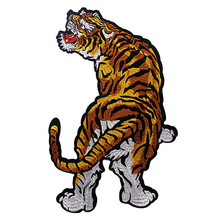 Patches Sewing-Accessories Scrapbooking Embroidery Tiger-Clothes Applique Sew On TH181