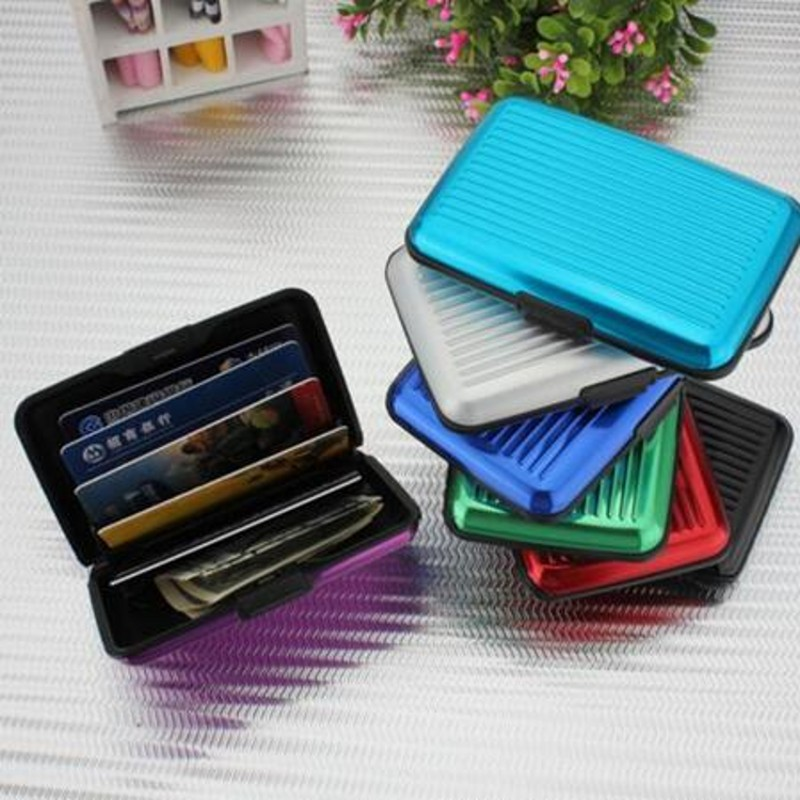 Creative Travel Portable Multifunction Aluminum Credit Card Pack ...