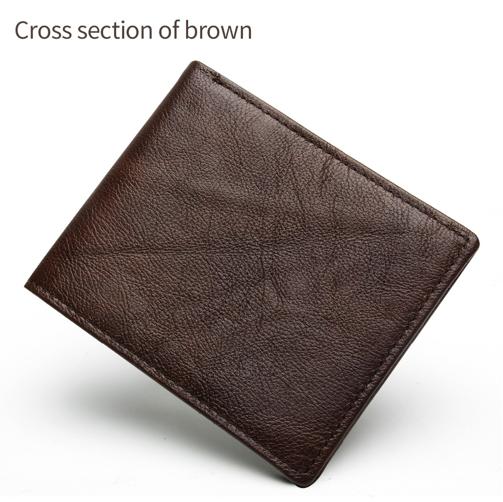 2031-100% top quality cow genuine leather men wallets fashion splice purse dollar price carteira masculina-1_01 (12)