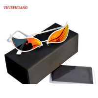 Limited Anime One Piece Donquixote Doflamingo Joker Sunglasses Men Women cosplay Accessories Glasses