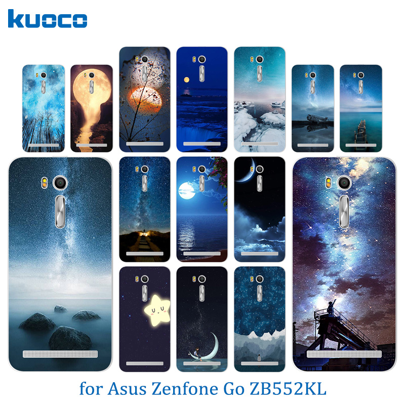 Cases for Asus Zenfone Go ZB552KL Night Sky Pattern Cover 5.5 Soft TPU Silicone Cases for Asus Zenfone Go zb552kl Case