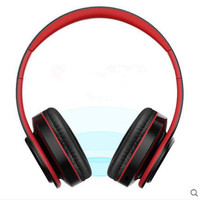 L6 X New Arrival Colorful Stereo Audio Mp3 Bluetooth Headset Foldable Wireless Headphones Earphone Support Card
