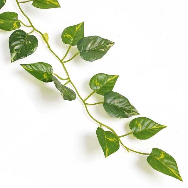 2m artificial ivy leaf garland plants vine fake foliage flowers home