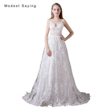 Sexy See Through Backless A-Line Sweetheart Lace Cover Wedding Dresses 2017 with Straps Women Bridal Gowns vestido de noiva A016