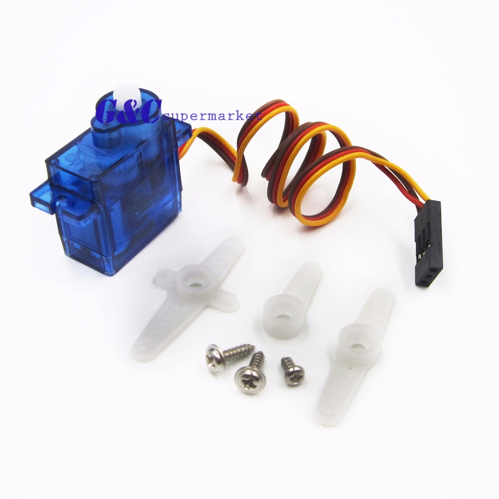 10PCS 9G SG90 micro servo motor RC Robot Helicopter Airplane ctrol