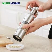 1PCS Stainless Steel Pepper Grinder Mill Kitchen Salt Gadgets Milling Machine kitchen Supplies