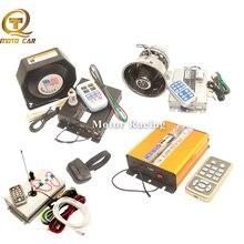 Wireless Control Car Alarm Megaphone MIC System Police Siren 200W 400W 600W 800W Speaker Waring Truck Loud Horn