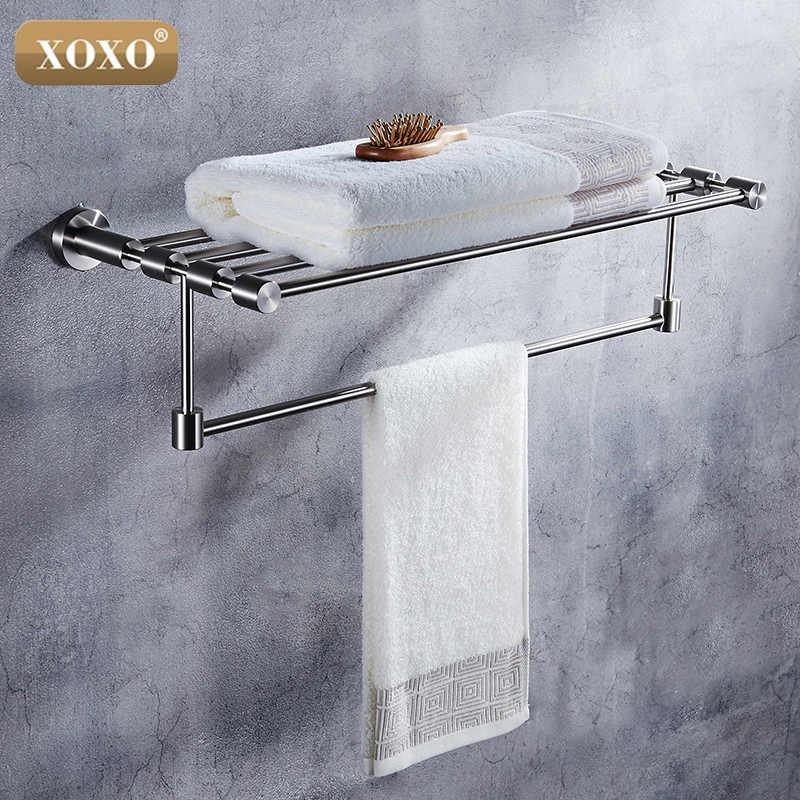 XOXO304 ze stali nierdzewnej łazienka serii Europejski nowoczesna łazienka sprzętu, uchwyt na papier toaletowy wc szczotka szaty Wanna wieszak na ręczniki