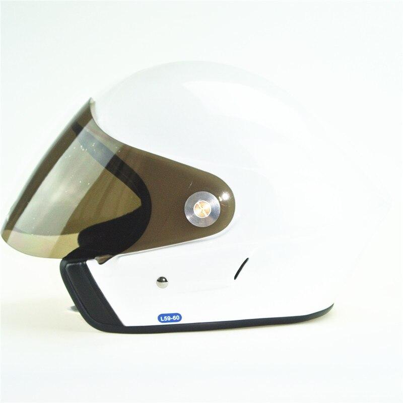 Casque de parapente visage ouvert casque de deltaplane casque de parapente couleur blanche EN966