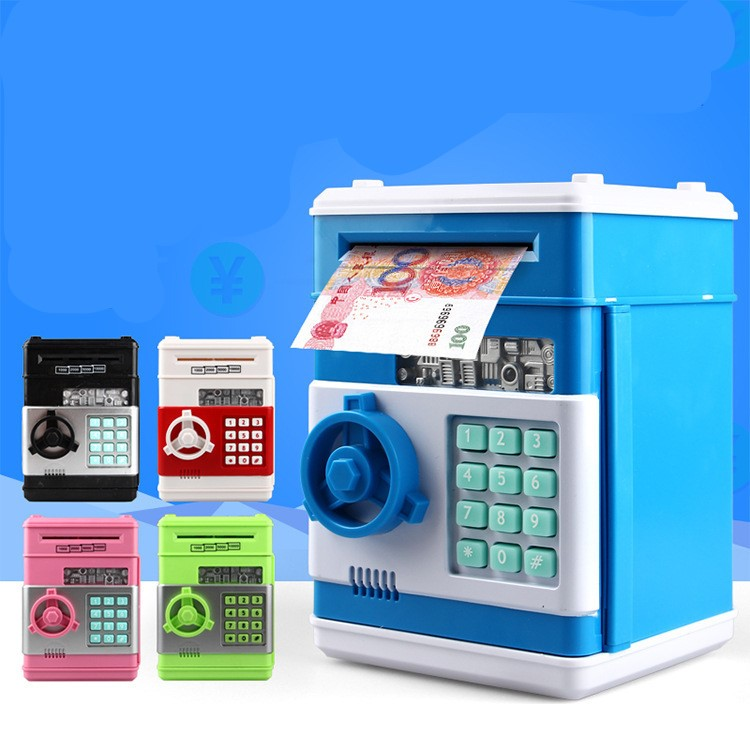 Creative Mini ATM Machine Child Gifts Electronic Piggy ...