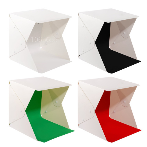 Mini Folding Studio Diffuse Soft Box Background Photo Studio Accessories For Canon 580EXII 580EX 430EXII foNikon