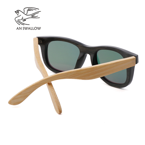 AN SWALLOW Brand Design Children Sunglasses Multi-color Frame Wooden Sunglasses for Child Boys Girls Sunglasses Wood TAC UV400 Multan