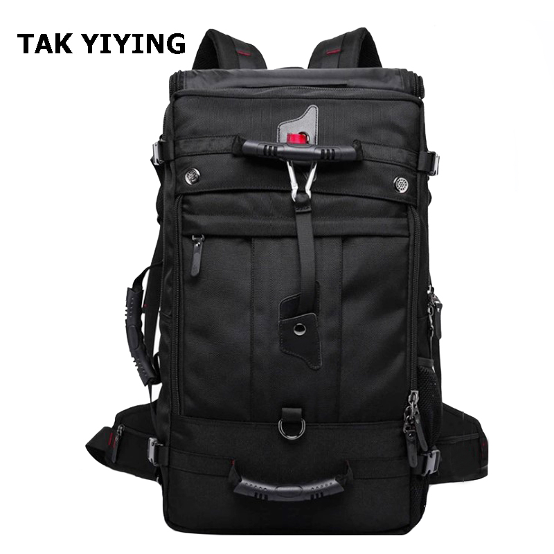 TAK YIYING  Outdoor Sports Tactical Backpack For Camping Hiking Climbing Men's Backpack Nylon Bag Mountaineering bag 33-55L kimlee 25l multifunctional sports backpack outdoor camping backpack bag climbing fishing travelling backpack free shipping