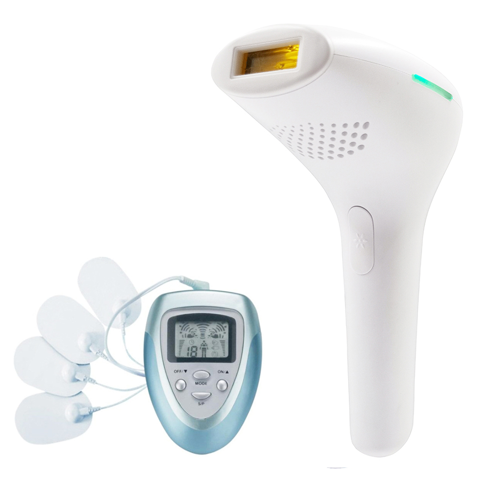 500000 Flashes IPL Depilador Laser Permanent Hair Removal Device Armpit Hair Remover Bikini Trimmer Electric Epilateur