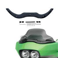 TCMT Motorcycle Windscreen Windshield Trim For Harley Touring Road Glide Models Ultra Custom 2004 2013 FLTRU