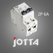 C45N 2 pole 6A 400V~ C type mini circuit breaker mcb