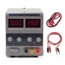 YIHUA 1502DD Mini zasilacz laboratoryjny regulowany cyfrowy do naprawa telefonu 15V 2A Regulator napięcia przełączanie zasilania DC