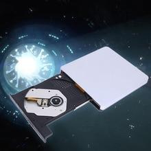 USB 3.0 Slim External DVD-RW DVD Writer Hard Drive For Macbook Pro Air PC Laptop Netbook High Quality