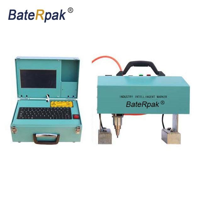 CM series BateRpak Computer type Handheld pneumatic marking machine,Portable metal parts batch number engraving machine