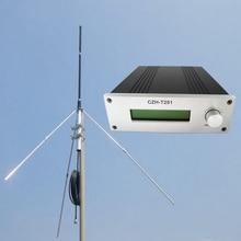 Cantonmade CZH-25A 25 Вт fm-передатчик радиостанции+ GP100 1/4 волна антенна комплект