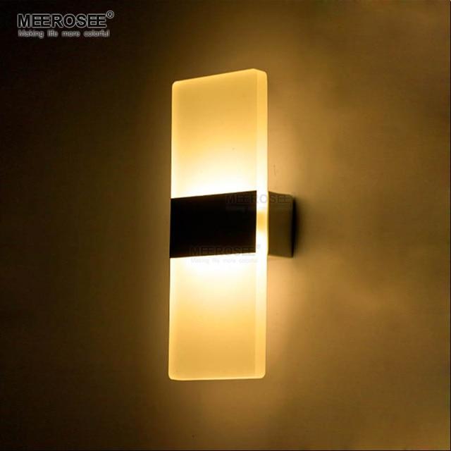 Modern 6W LED Wall Lights Bathroom Lighting High Quality Aluminum ...