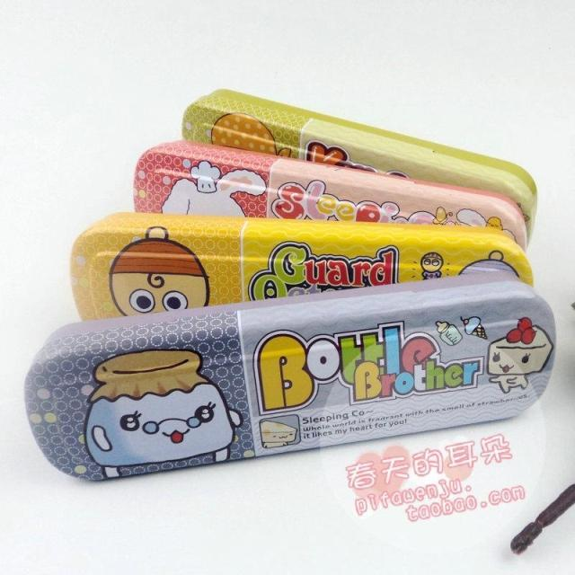 Double layer stationery box brief pencil case stationery box