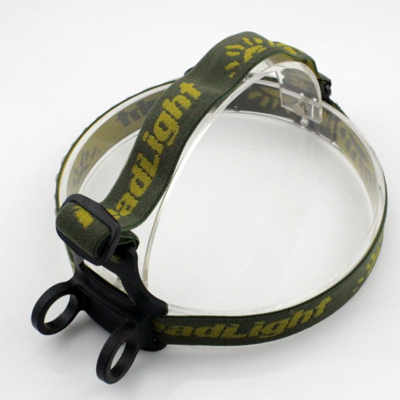 1pcs Headlamp Headlight Belt Strap Tape Band Holder For Led Torch Flashlight