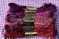 8.7 Yard Embroidery Thread Cross Stitch Thread Floss CXC Similar DMC 447 colors