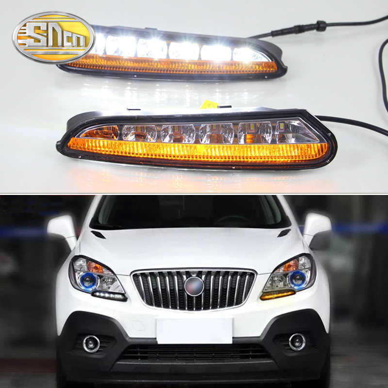 LYQ 2PCS/set LED DRL car daylight Daytime Running Lights for