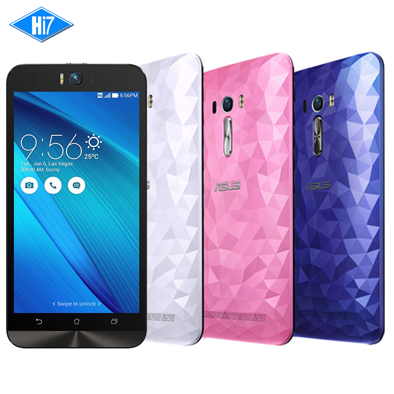 New Original Asus Zenfone Selfie ZD551KL Octa Core 3G RAM 16G ROM 5 5 inch Front
