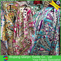 New Arrival High Quality Polyester Spandex Vintage Dress Fabric