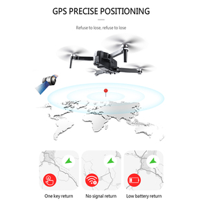 Image 5 - SJRC F11 PRO GPS Drone z kamerą 2KHD Wi Fi FPV, vs SG906, składany dron, bezszczotkowym quadkopterem F11 1080P, czas lotu 25 minut
