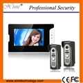 "IP55 waterproof outdoor new arrival 7"" color video door phone access control optional rfid card reader wired  video intercom"