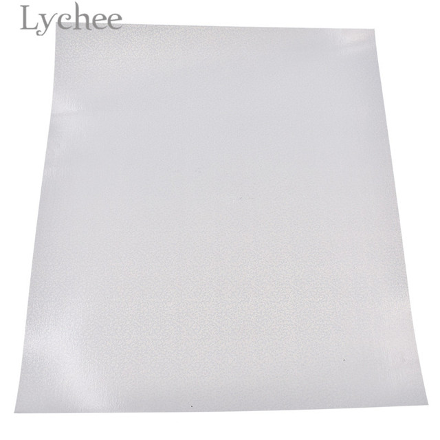 Lychee 30x25cm Laser Heat Press Transfer Vinyl Glitter PVC Decorative Supplies For T-shirt Clothing