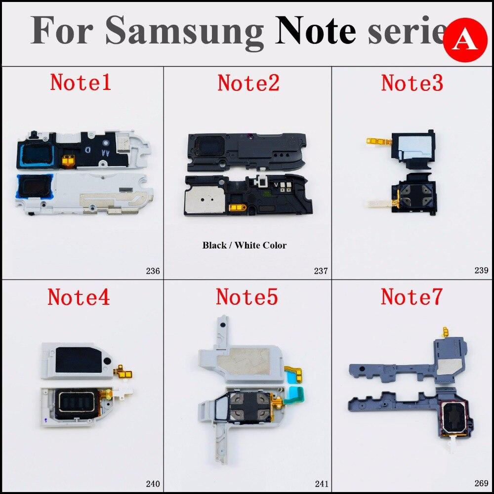 1 pçs/lote New Altifalante Altifalante Buzzer Ringer peças de reposição Para Samsung Galaxy note Nota 1 2 3 4 N910 /N910A Nota 5 7