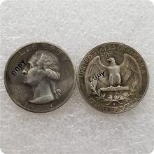 Stany zjednoczone 1932-D Washington Quarter monety monety monety okolicznościowe-monety okolicznościowe monety kolekcje