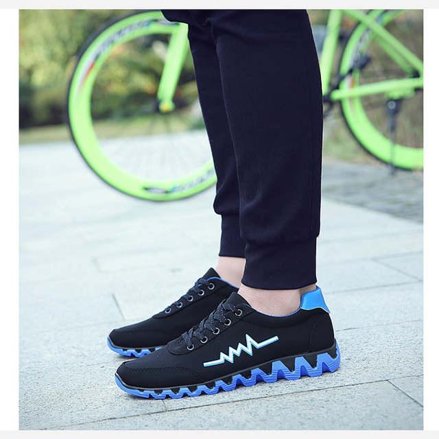 1d1eded35 Online Shop Men Sneakers Running Shoes mens Light designer Sneakers Canvas  Breathable Sport Shoes men Jogging Walking Athletics Shoes | Aliexpress  Mobile