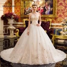 Robe de mariage scintillant avec perles  ...