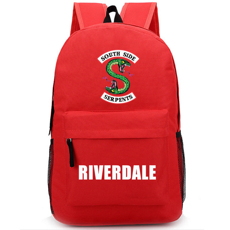 Riverdale Women Backpack Solid Schoolbag Backpack Male Solid Schoolbag Laptop Men 2018 #3