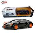 Licensed 1:24 mini electric rc cars toys máquinas en th radio control 4ch control remoto bugatti grand sport vitesse 47000