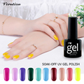 Verntion Lucky 24Colors UV Soak Off Gel Varnishes nail art Long Lasting UV Gel Nail Polish Lacquer vernis semi permanent set
