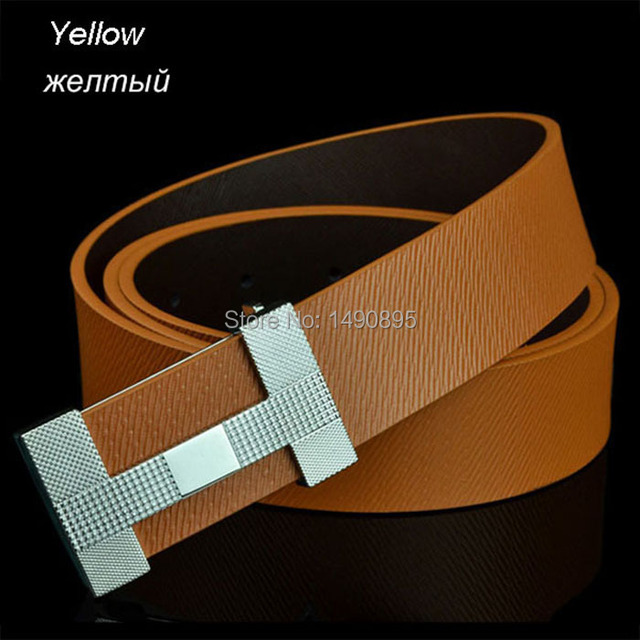 Hot Sale Famous Popular Luxury H Name Brand Belts with H Letter Buckle Belt Free Shipping!