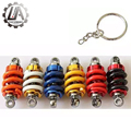 LA racing-JDM style Car Shocker absorber Nos Turbo keychain key ring For honda