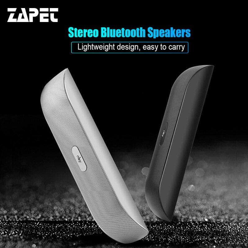 ZAPET nby-008 Altoparlante Bluetooth Altoparlante Portatile Senza Fili Mini Stereo con USB HD Micphone Supporto TF Radio FM per smartphone