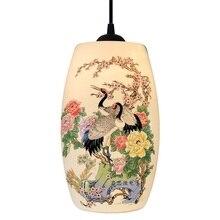 Подвесной светильник для кухни, столовой, гостиной, спальни, висящая керамическая ваза
