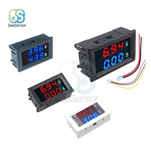 цена на Mini Digital Voltmeter Ammeter DC 100V 200V 10A Panel Amp Volt Voltage Current Meter Tester 0.28